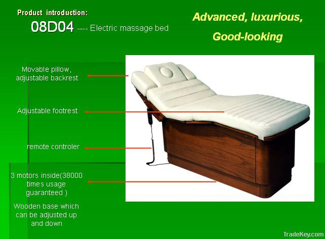 electric massage bed with music and vibration
