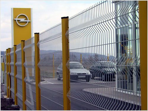 Welded Wire Mesh Fences For Security