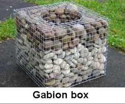 Hexagonal Wire Mesh Gabion Box Cage