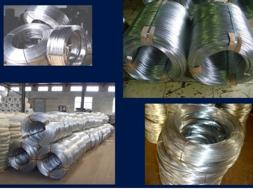 Hot Dipped and Electro Galvanized Iron Wire