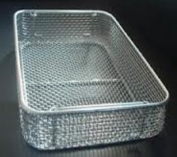 Stainless Steel Spot Welded Wire Mesh Basket