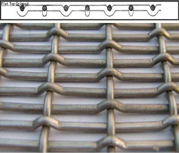 heavy crimped wire mesh