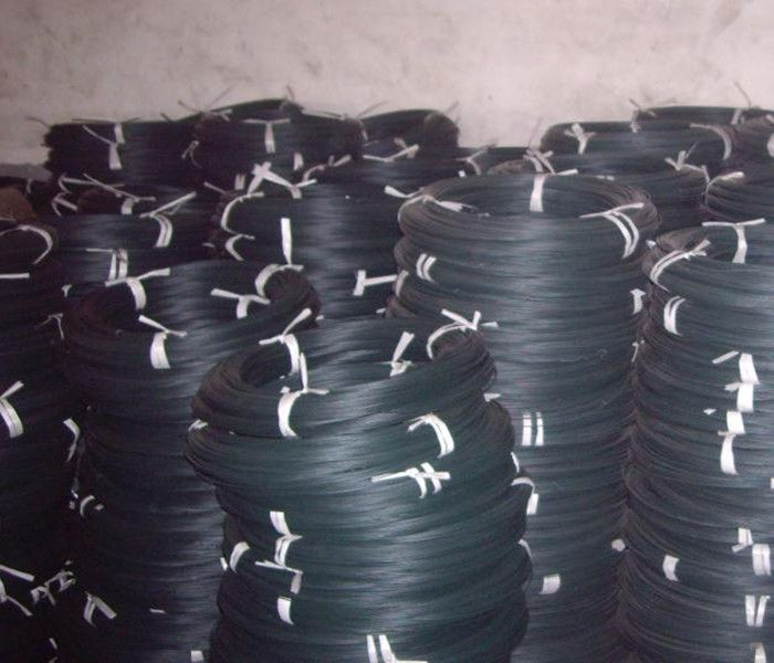 black enamel iron wire