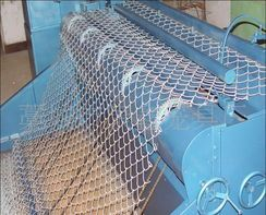Green PVC Coated Chain Link Wire Mesh