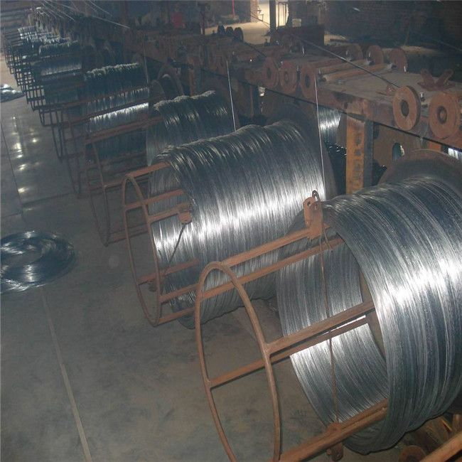electro galvanized iron wire and hot dip galvanized iron wire
