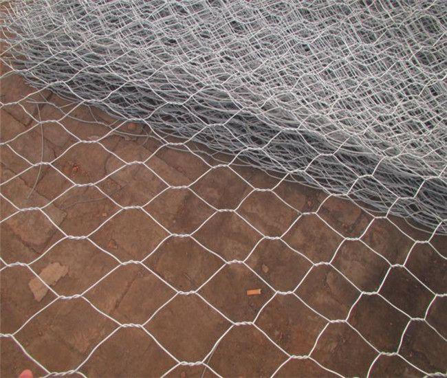 PVC Coated gabion box (Chicken wire mesh)