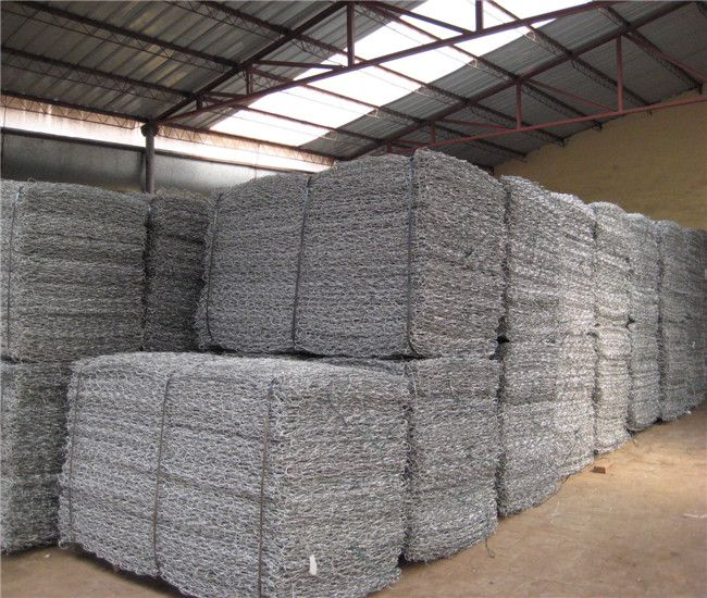 1000 woven gabion box for the water dam