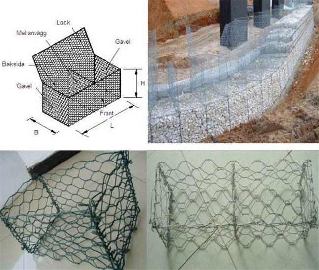 hexagonal wire mesh gabions box