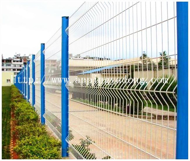 Fence Netting, Curved Fence, Security Wire Fencing
