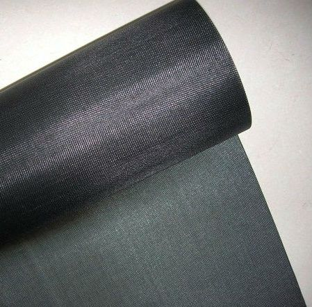Woven Black Wire Cloth Fire Resistant