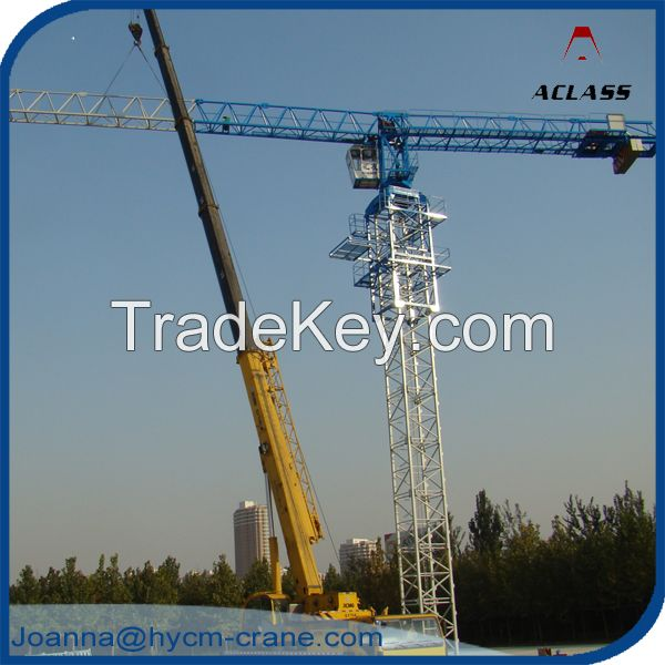 Supply New China P125(QTP6020) Max.10T, Tip 2T, Flattop Tower Crane
