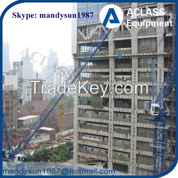 Supply QTD125 10t Self-erecting Luffing Jib Tower Crane