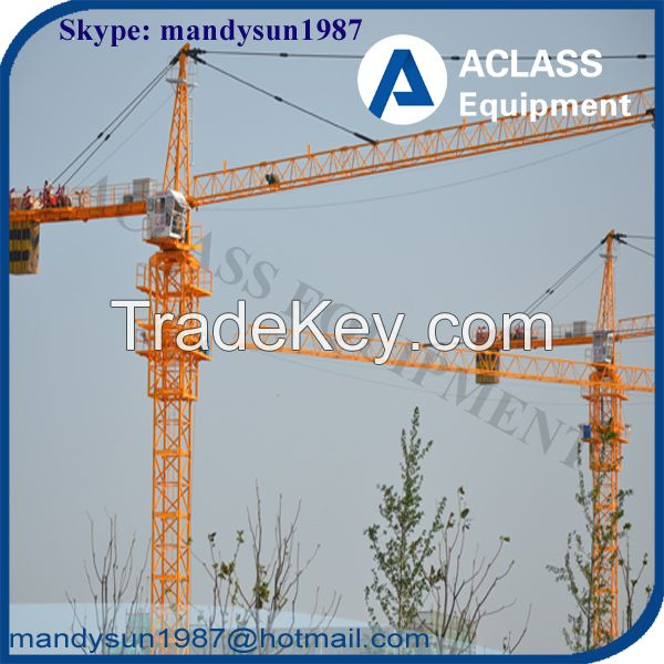 150m High Rise Building 8 ton Tower Crane TC6010