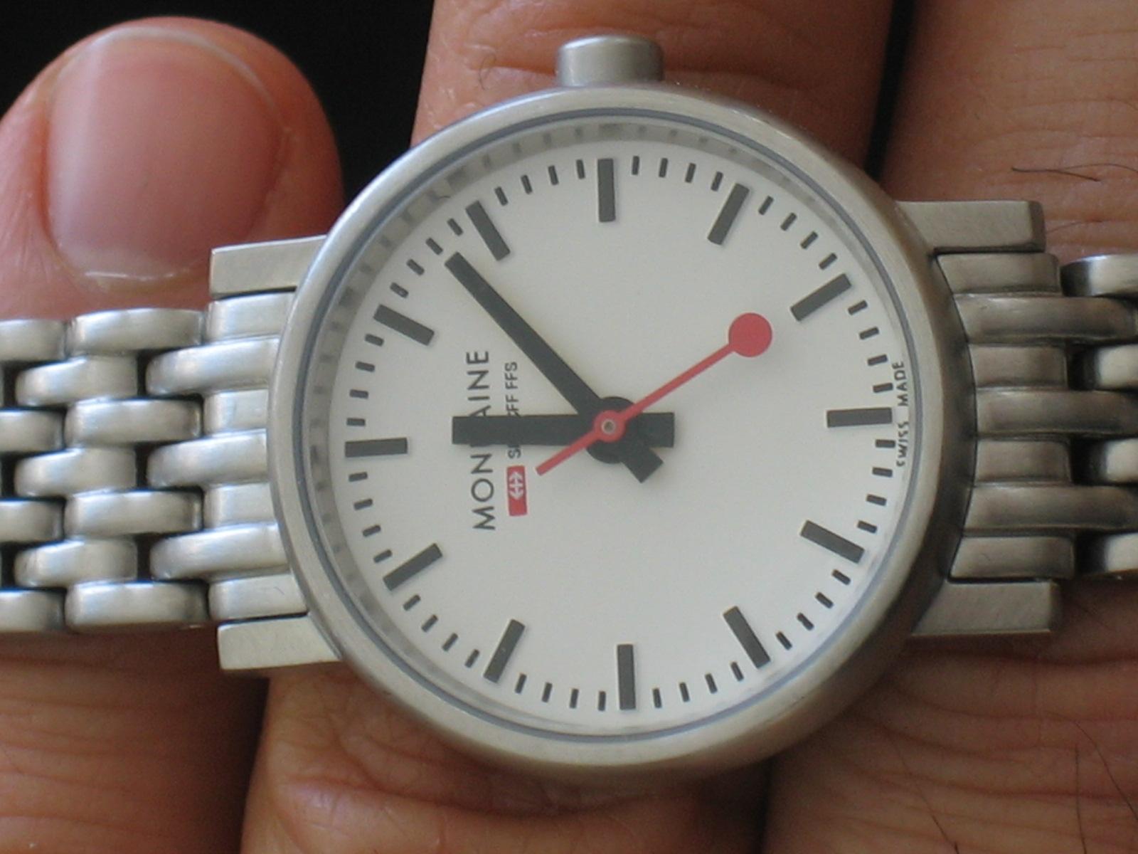 women's evo quartz stainless steel watch