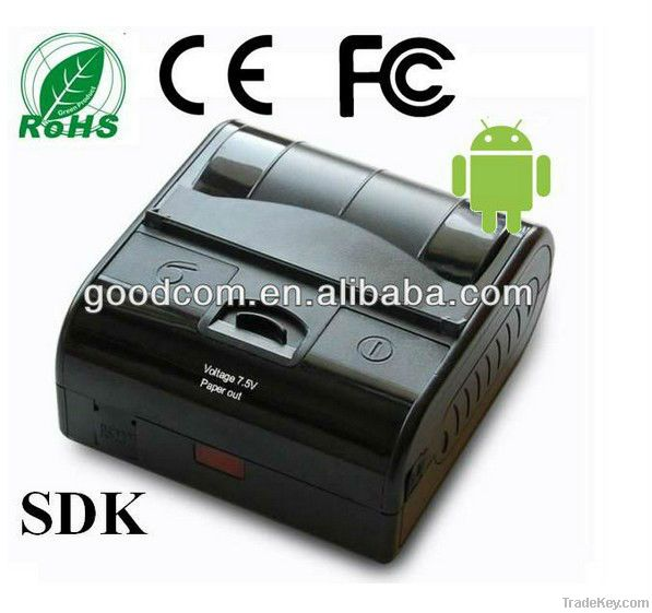 3inch, 80mm Android Bluetooth Printe with Free SDK