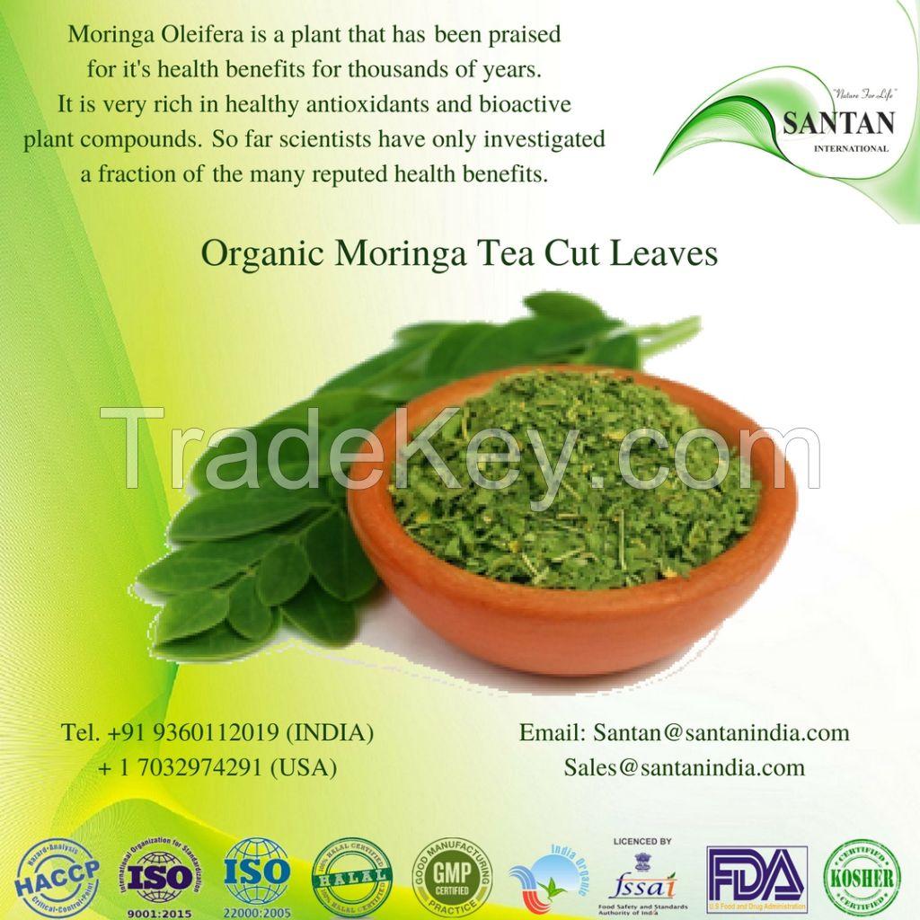 Organic Moringa Tea Cut Leaf