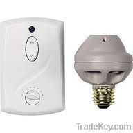 GE 51137 Switch Kit 3 Piece Wall Ceiling Light with Socket Adaptor-Wa