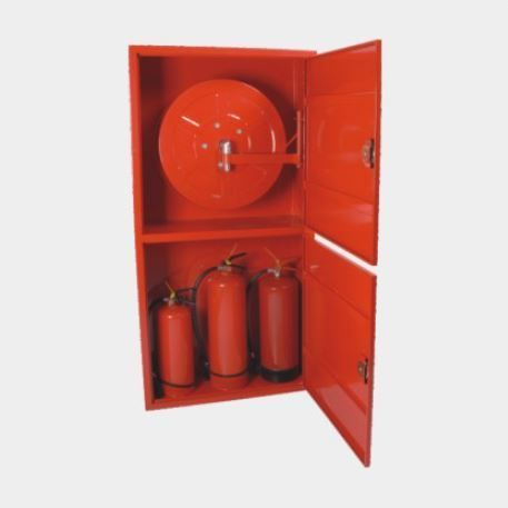 Fire Cabinet for Hose Reel and Extinguisher