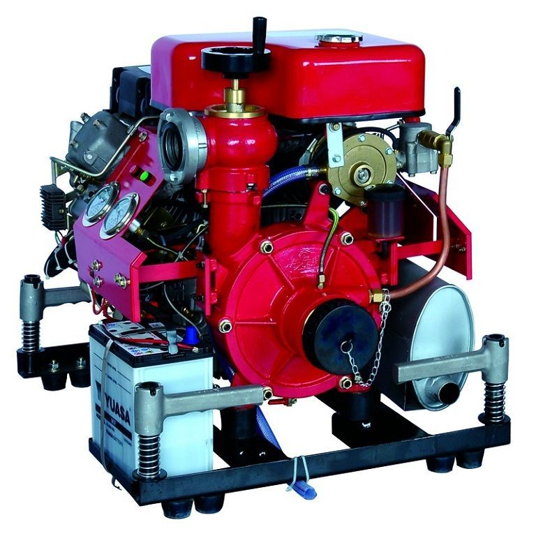 Portable Fire Fighting Pump Gasoline Engine BJ-15G