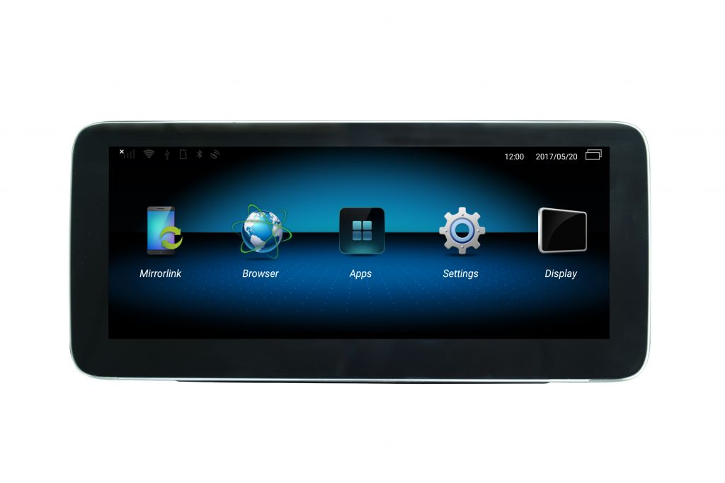 10.25 inch Android Multimedia for Mercedes-Benz C/GLC/V/X  Stereo Radio CD Player DVD GPS Navi Navigation System Board