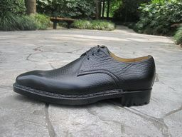 Italy style goodyear men leather dress shoes