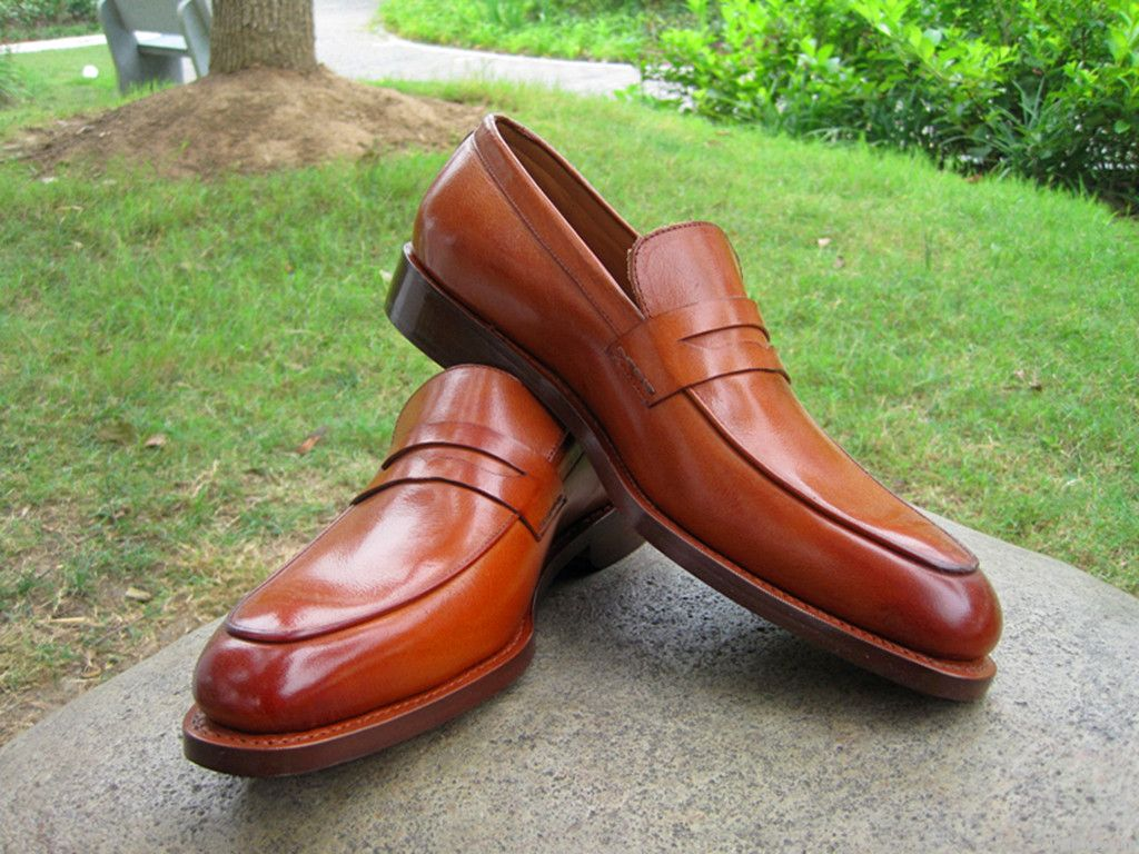 high-grade leather dress men shoes made by hand