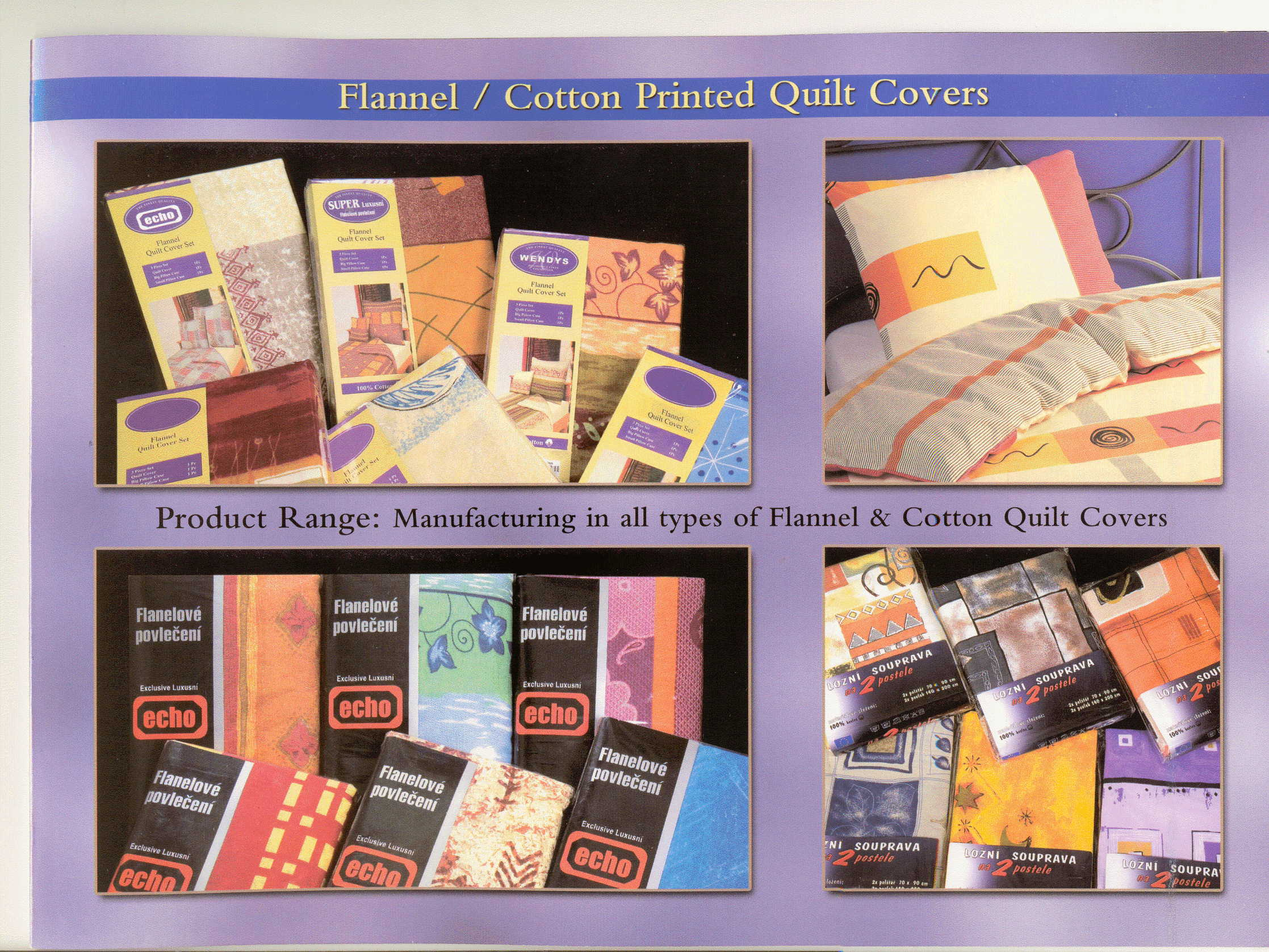 Beddings and Pillow Covers