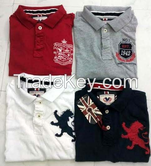 Branded Mens Polo Shirts From Ready Stock