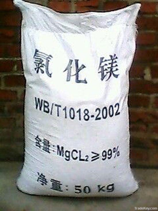 Magnesium Chloride Flakes / powder 46% industrial grade
