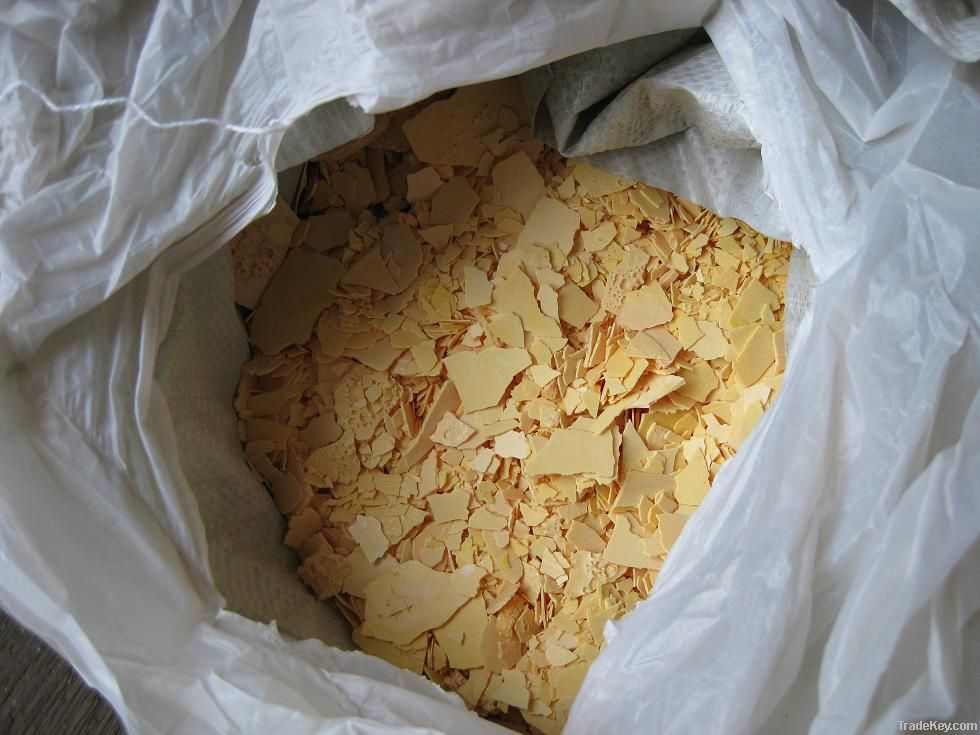 Sodium sulfide yellow/brown/red Flakes