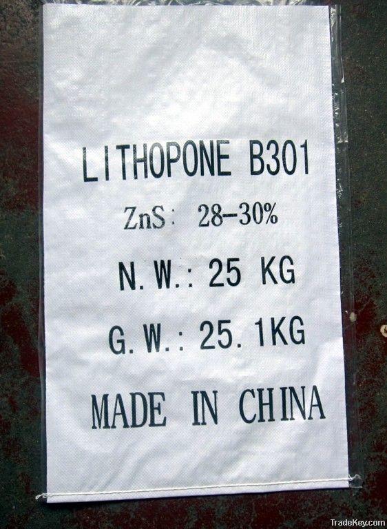 Lithopone 28%/30% ZnS BaSO4