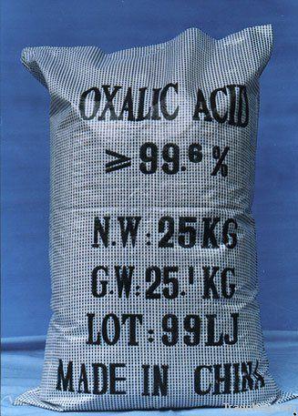Oxalic acid SGS Report