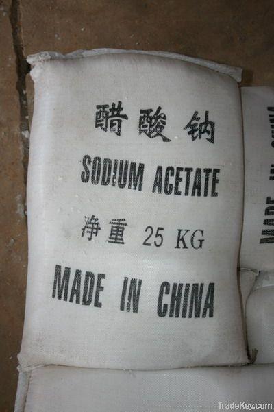 Export sodium acetate of high quality