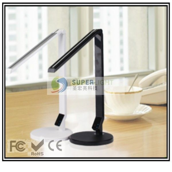 Foldable dimmable office hotel home led table lamp