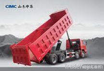 Trucks and construction equipment