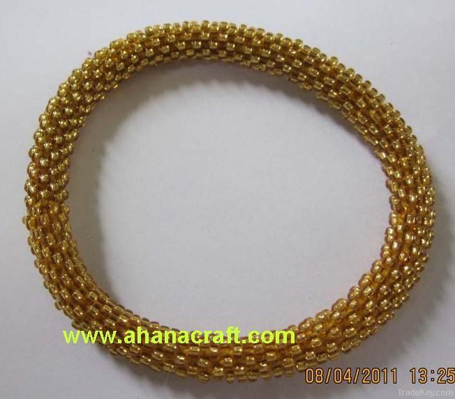 Roll On Beaded Bracelets