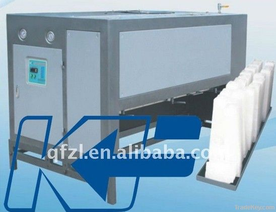 directly cooling style ice block machine