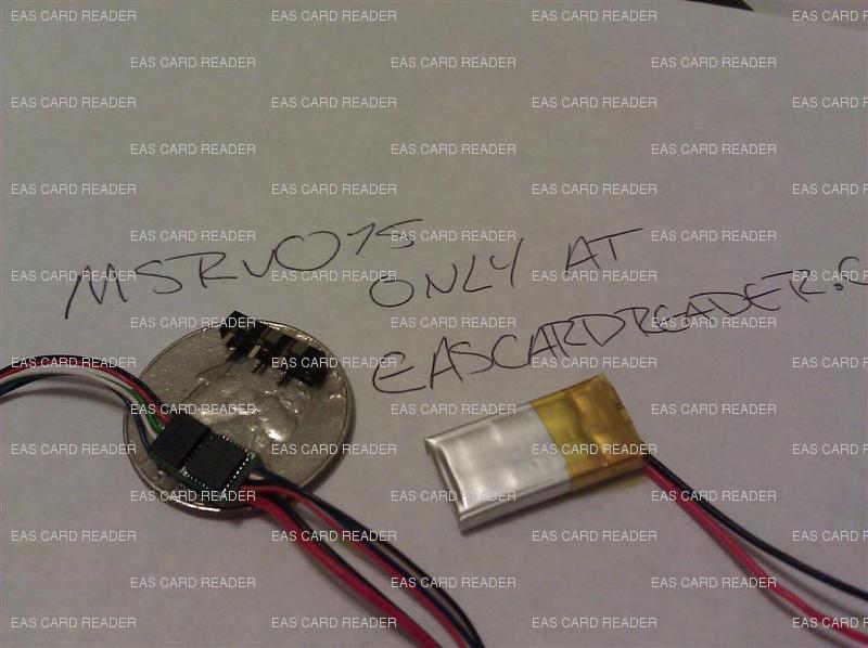 MSRv015 USB INTERRUPTED SWIPE card reader!! SMALLER than MSRv007 MSRv0