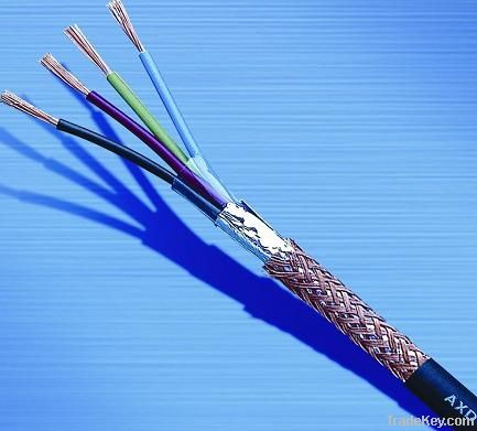 PVC insulated and sheathed flame retardant control cable