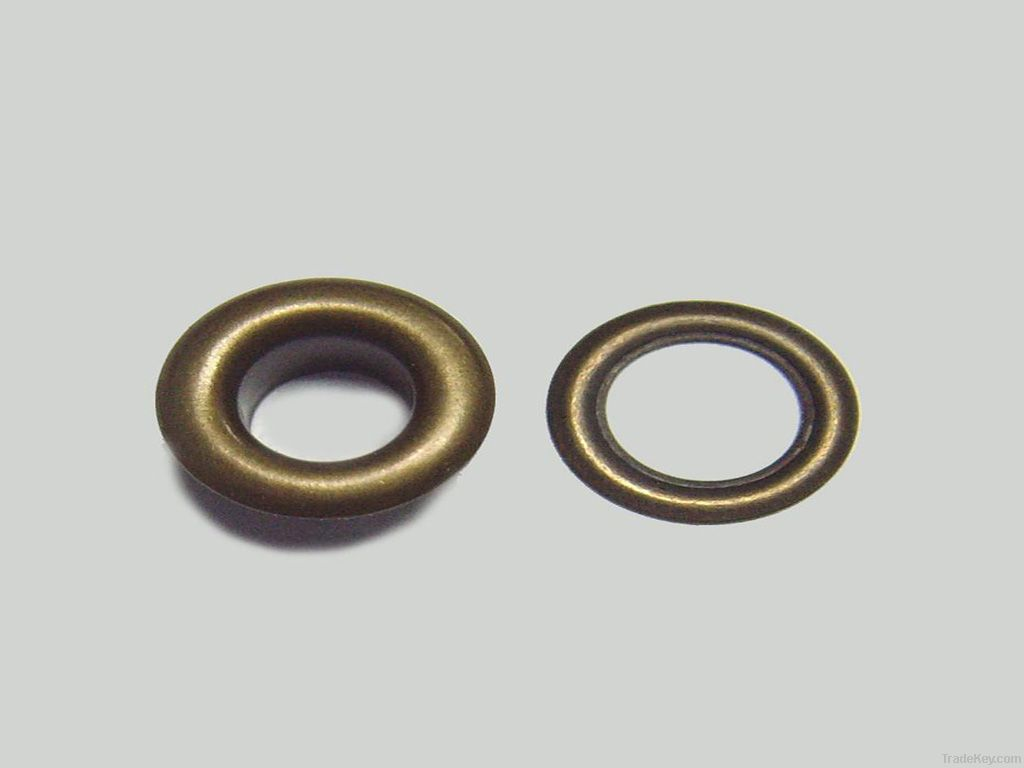 OEKO metal brass clothing eyelet fastener