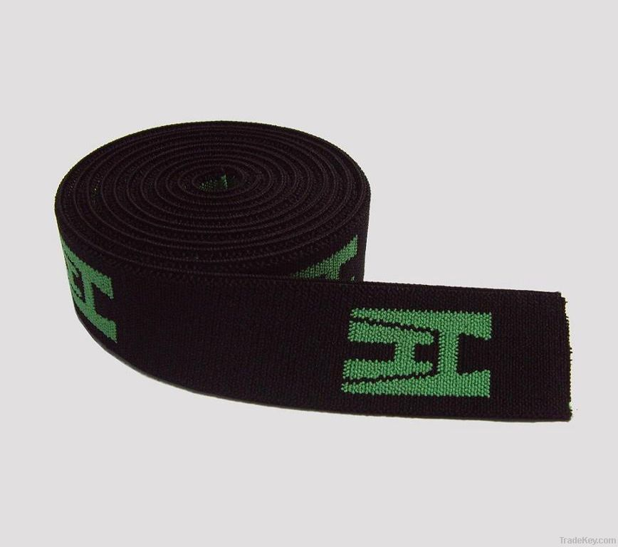 OEKO polyester/PP/nylon elastic webbing belt