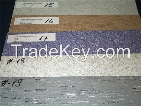 Stocklot Gerflor Plastic Floor Coverings in tiles