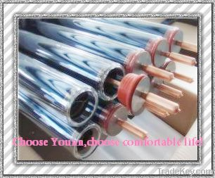 Vacuum tube with heat pipe solar collector system