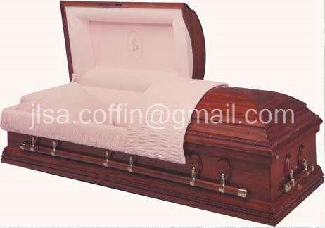 wood casket-001