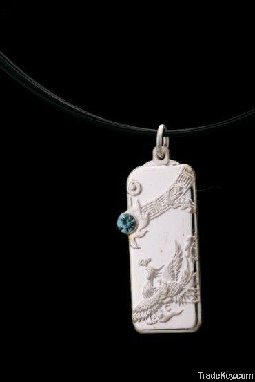 2012 latest sterling silver wedding pendant
