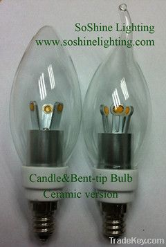 LED Crystal Bulb-B15/B22/E12/E14/E17/E26/E27