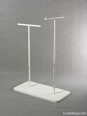floor type clothes display hanger