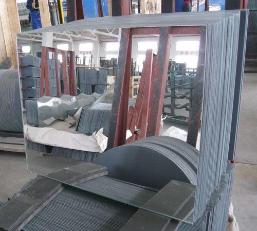 Large Silver Mirror Glass Sheet