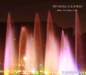 Artistic water  Fountain