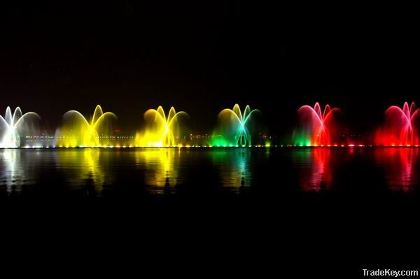 music fountain